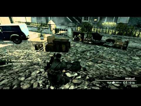 Sniper Elite Land Mine Tutorial Pathway In Event Of Bug