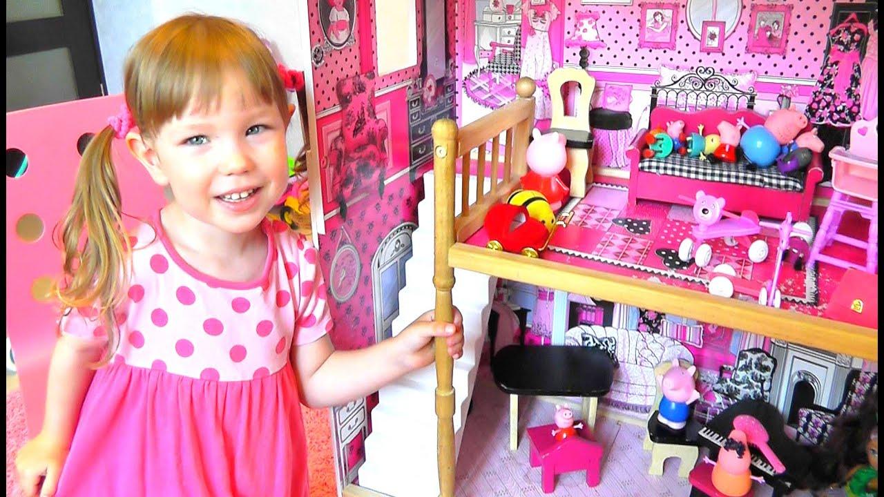 игры для девочек кукольный домик свинки пеппы
