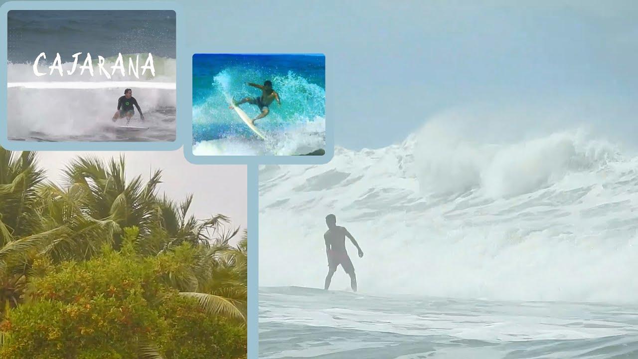 Surf na Caueira com bela imagens de Sergipe