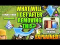 REMOVING X-MAS TREE WHAT DID I GET? NEW MAGIC ITEMS/CLAN GAMES EXPLAINED CLASH OF CLANS•Future T18