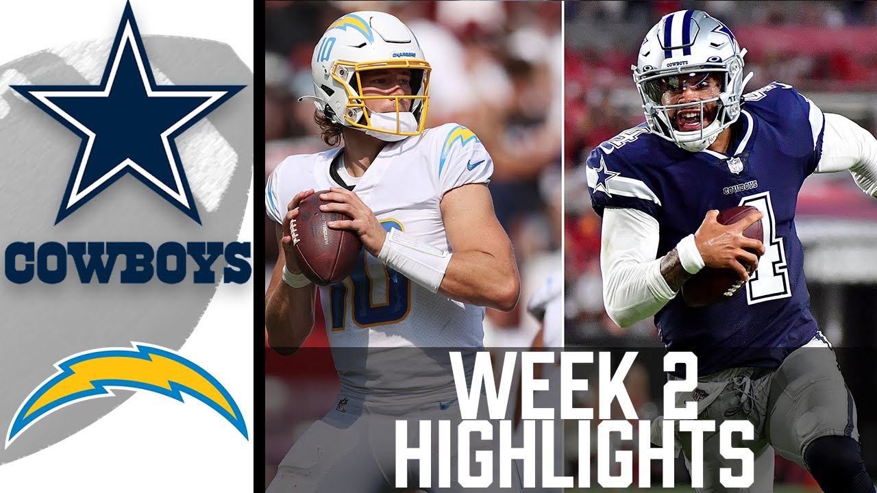 Download Cowboys vs Chargers Week 2 Highlights   NFL 2021