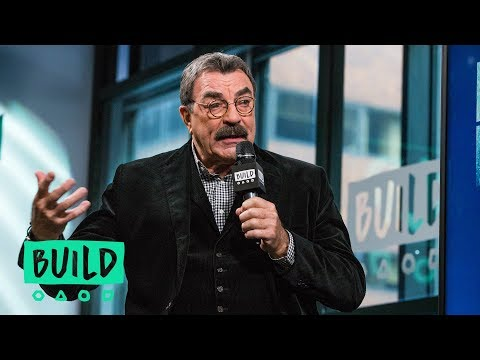 "Tom Selleck Talks About ""Blue Bloods"""