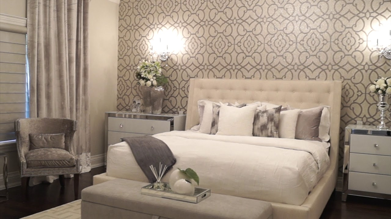 Elegant Master Bedroom Makeover