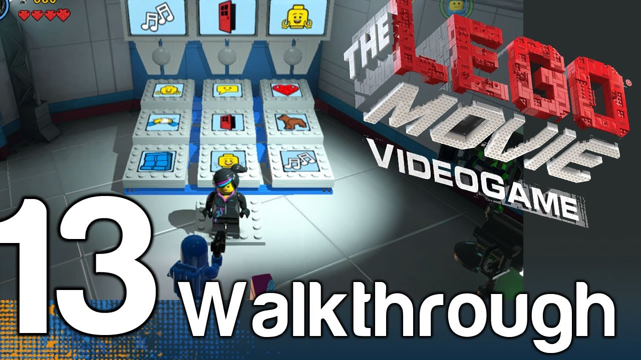 The LEGO Movie Videogame Walkthrough Part 13 - Broadcast News | WikiGameGuides
