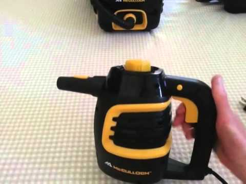McCulloch Steam Cleaner Comparison