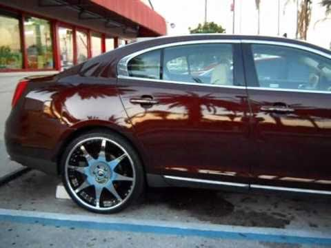 2010 Lincoln Mks On 22 Forgiatos Youtube