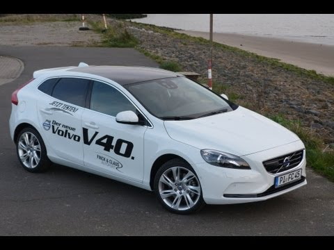 Testbericht VOLVO V40 D4 2012 - Neu/New Roadtest Video Review - EngineReport
