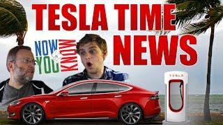 Video Tesla Time News - Tesla Gives Extra Range, and more! download MP3, 3GP, MP4, WEBM, AVI, FLV September 2017