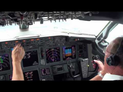 Flying in a 737 Boeing Business Jet