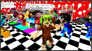THE STREET BOY WENT TO A FEAST OF RICO (HISTORINHA AT ROBLOX)