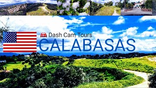 Dash  Cam Tours 🚘 Calabasas, California, USA
