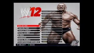 WWE 12 Ps2 Gameplay With Commentary