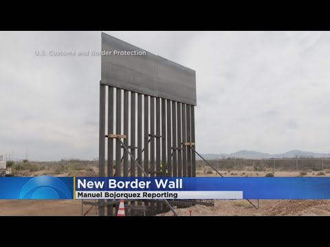 New Border Wall To Go Up Near El Paso