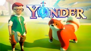 TAMING PETS & RESTORING THE FARM - Yonder PC Gameplay - Yonder: The Cloud Catcher Chronicles