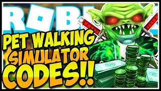 🔥SECRET CODES PET WALKING SIMULATOR🚨[GRATUIT DOMINUS!] Pet Walking Sim Roblox🔥