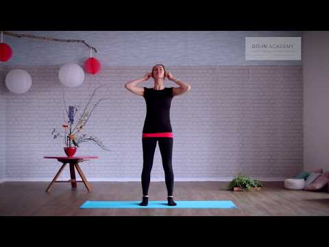 Relaxing Do-In exercises