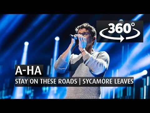 A-HA - STAY ON THESE ROADS | SYCAMORE LEAVES - 360 Angle - The 2015 Nobel Peace Prize Concert