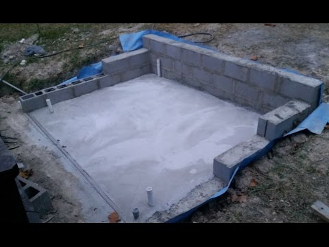 how to build a concrete retaining wall video