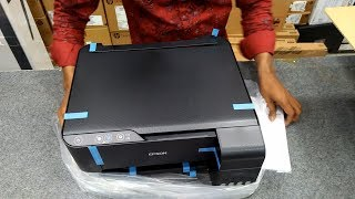 Epson L3110 EcoTank All-in-One Ink Tank Printer Unboxing and Ready Process Liton Reviews
