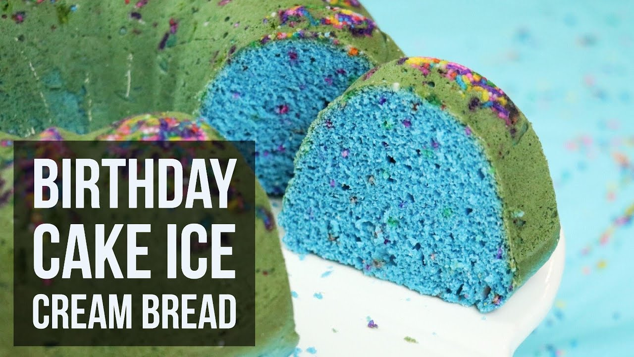 Birthday Cake Ice Cream Bread