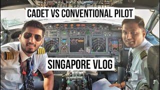 How to be a Pilot I Cadet vs conventional I Tapesh Kumar l Singapore Drone shots
