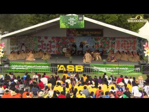 Polyfest 2015 Cook Islands Stage Sir Edmund Hillary Collegiate