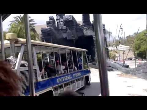 Universal Studios park in Hollywood (studio tour)