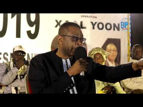 """Youssou Ndour prévient l'opposition """"Macky dina léne batieu té koufi yeungueul niou..."""""""