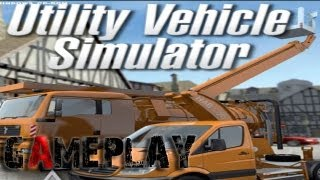 Utility Vehicle Simulator 2012 Gameplay (PC/HD)