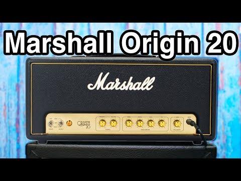 Marshall Origin 20 Head - Classic Sound Modern Features