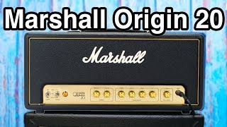 Marshall Origin 20 Head - Classic Sound Modern Features