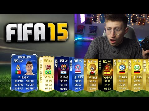 opening PACKS on FIFA 15... |