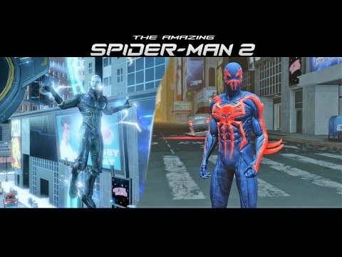 Spider-Man 2099 vs Electro - The Amazing Spider-Man 2 Game (PS4)