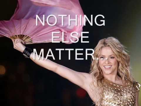 shakira-nothing else matters.wmv