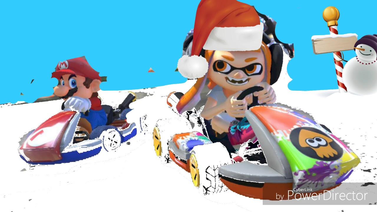 Christmas Mario Kart.Merry Christmas To Mario Kart 8 Hd
