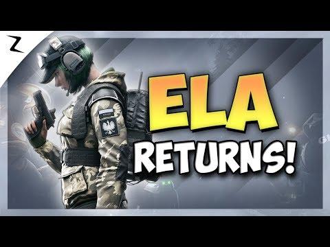 Ela is Back - Rainbow Six Siege