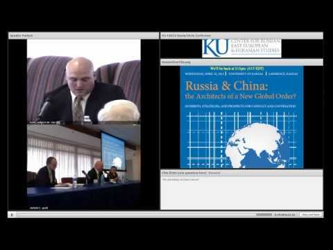 """KU Russia-China, Panel 3: """"Perspectives on S. Ossetian, Abkhazian Independence""""  Bartles"""