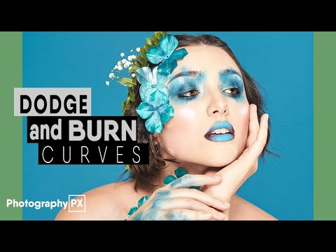 The Simplest Way to Dodge & Burn In Photoshop - Using Curves