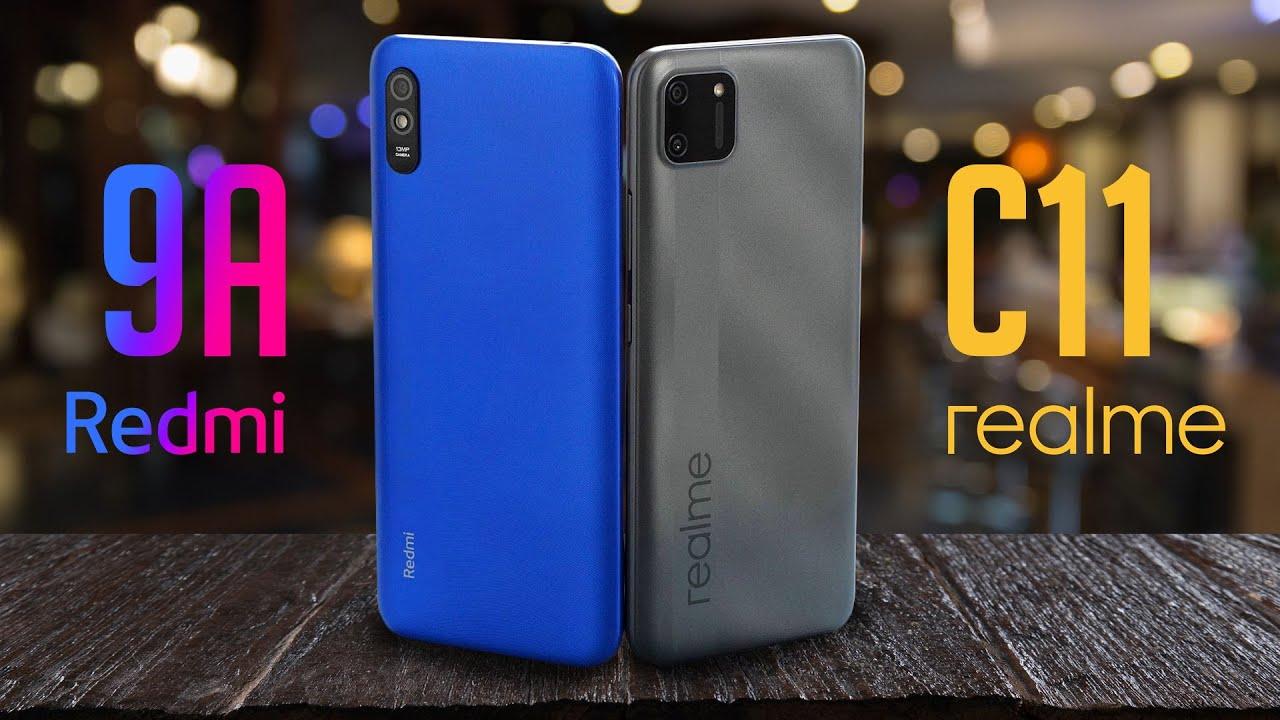 Xiaomi на дне, Realme на коне? Лучший смартфон за 7990 рублей. Realme C11 vs Redmi 9A / ОБЗОР