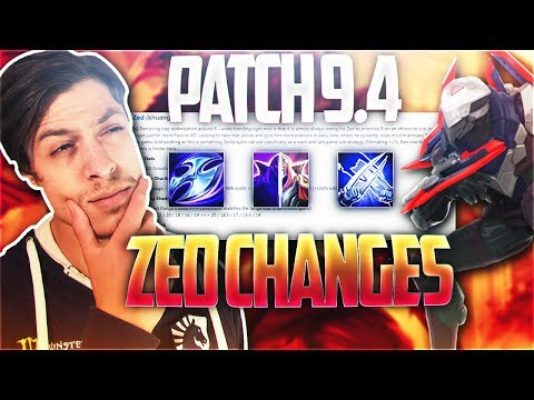 LL STYLISH | 9.4 ZED CHANGES!!! LET'S TALK ABOUT IT [ft. LACERATION] (NO GAMEPLAY)