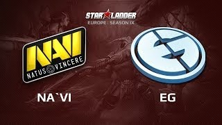 Na`Vi -vs- EG, SLTV Lan Finals Day 1 Game 3