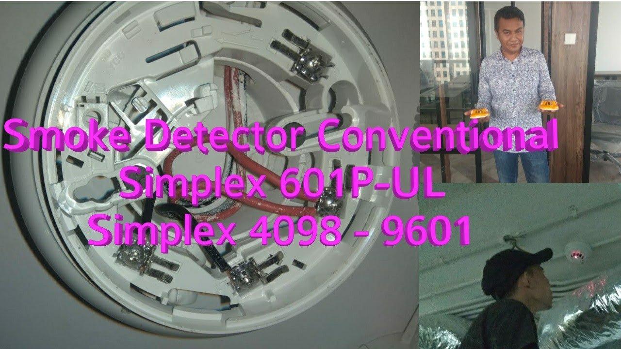 Simplex 4098 9601 Simplex 601p Ul Photo Electric Smoke Detector