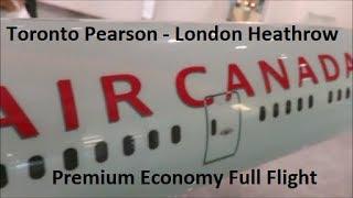 Full flight Air Canada