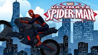 Marvel Spider-Man Ultimate Spider-Cycle Full Racing Game | Superkidsgames