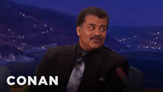 Neil DeGrasse Tyson: Science Shouldn't Have To Be Defended  - CONAN on TBS