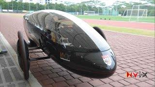 Nanyang Venture 9 for Shell Eco Marathon Asia 2015