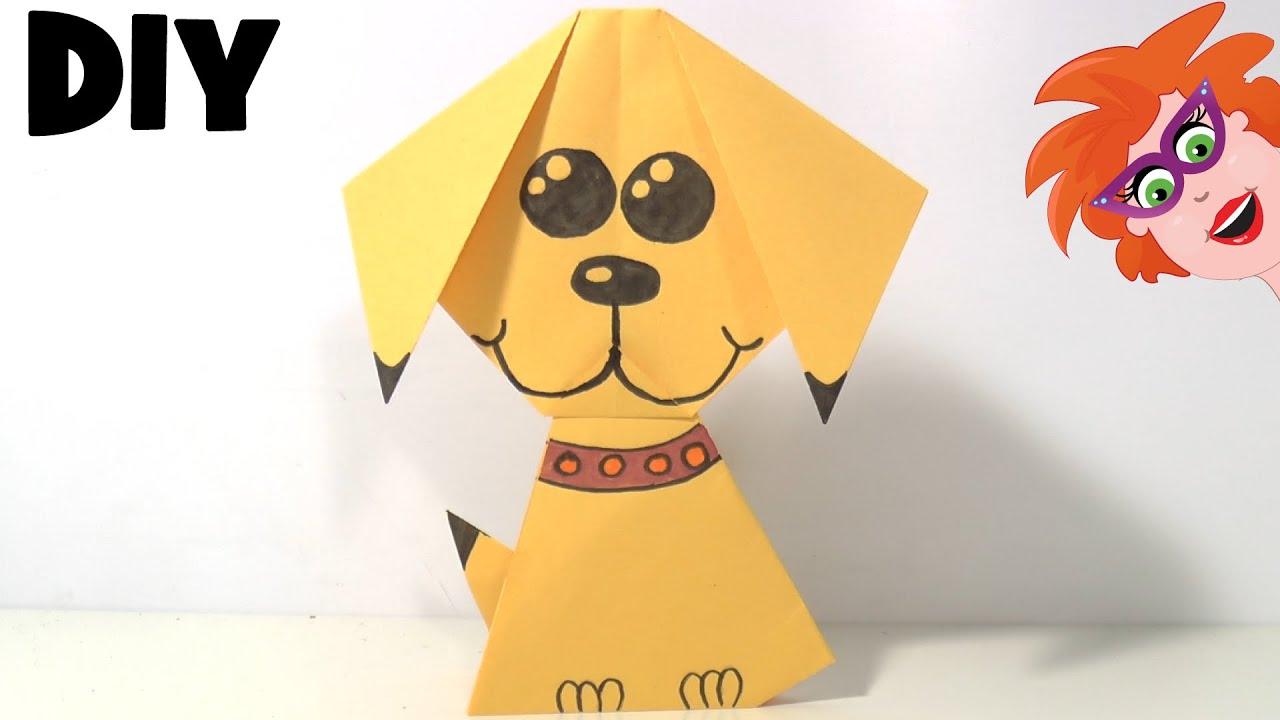 Origami Hondje Vouwen Van Papier Youtube