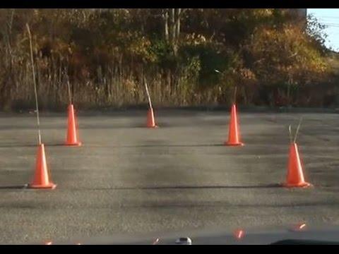 Ohio Car Maneuver Test Driver Maneuverability