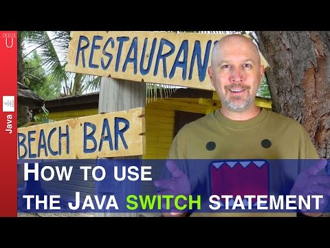 How to use the Java switch statement - 018