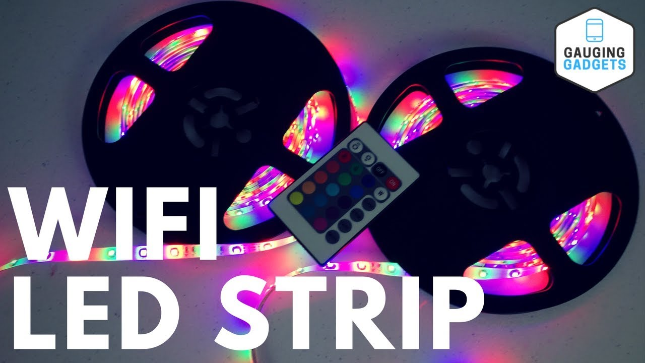 Led Light Strips Rgb Feican Wifi Led Light Strip Waterproof Rgb Led Strip Kit Smd3528